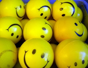 image of smiley faces