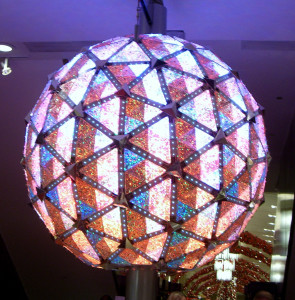 image of Times Square ball dropping